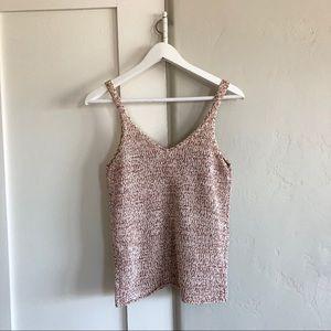🍁 nwt   Harper heritage   knit tank in blush